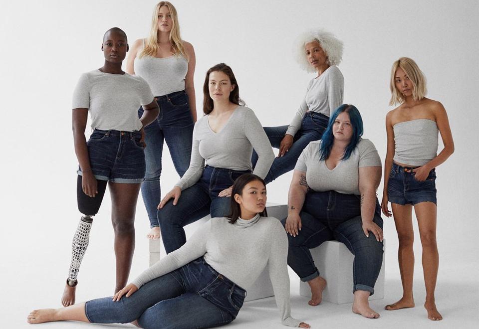 women wearing universal standard clothes