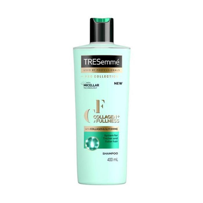 best shampoo for every hair type: TRESemme Collagen+ Fullness Shampoo