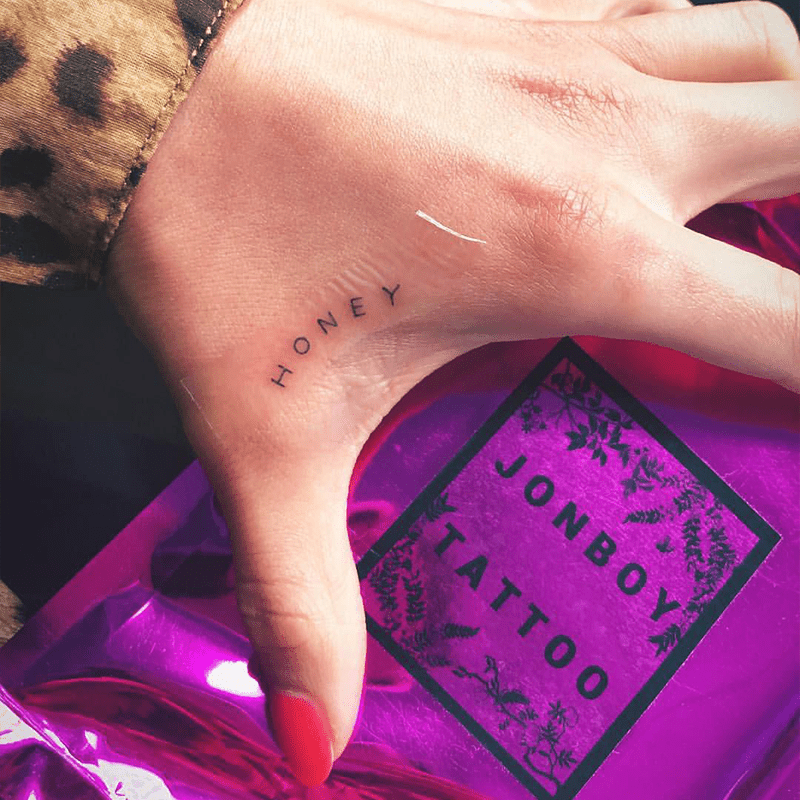 Shay Mitchell's tattoo