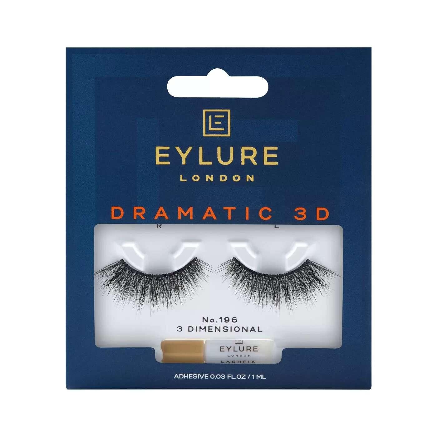 Eylure False Eyelashes Dramatic 3D No. 196