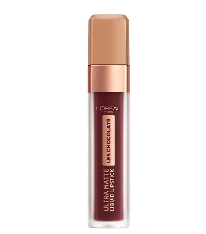 Best Drugstore Lipstick: L'Oréal Paris Les Chocolats Ultra Matte Liquid Lipstick in Candy Man