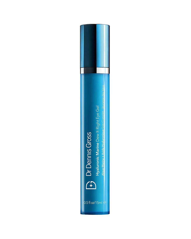 Dr. Dennis Gross Skincare Hyaluronic Marine Dew It Right Eye Gel