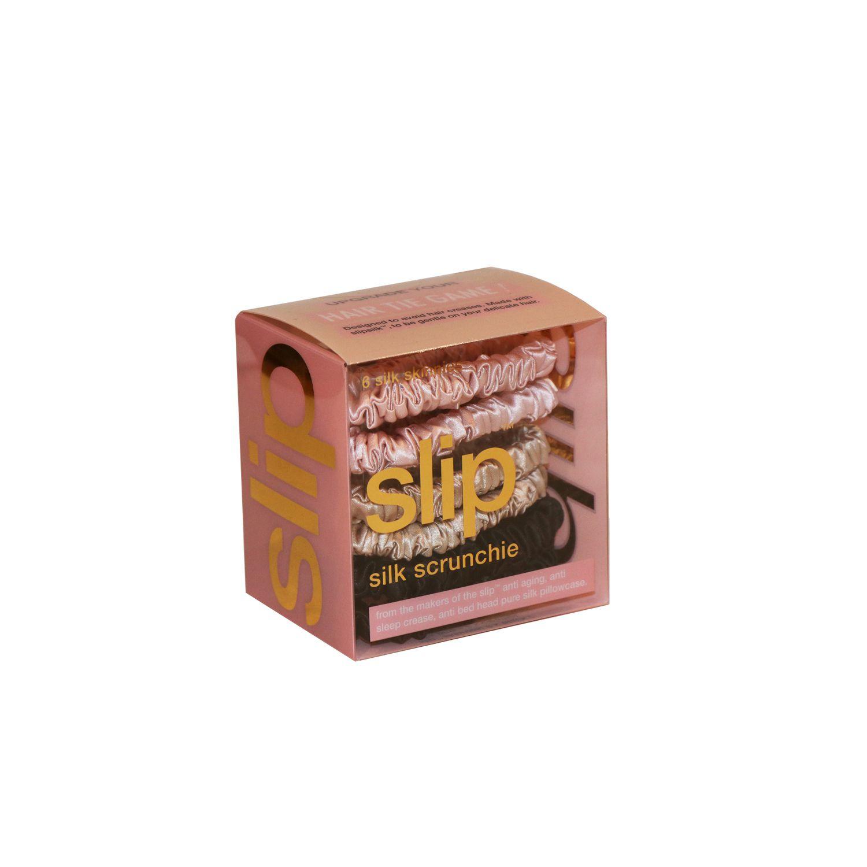 slip silk scrunchies in a pack