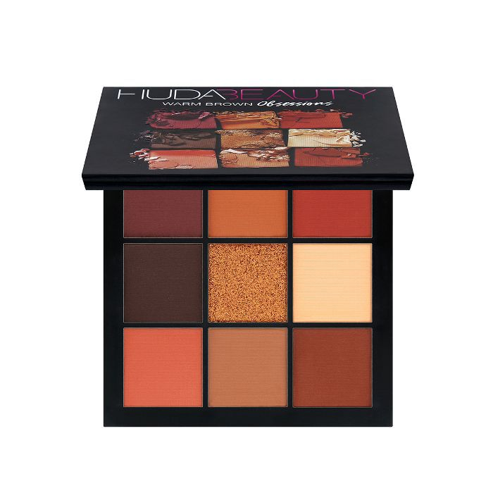 Huda Beauty Obsessions Eyeshadow Palette in Warm Brown