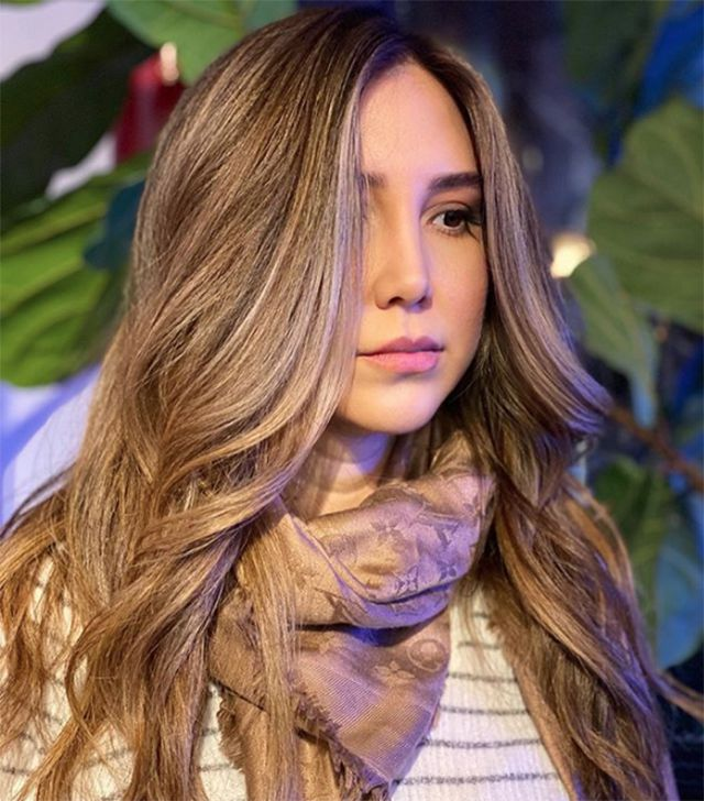 Rooted Bronde Highlights