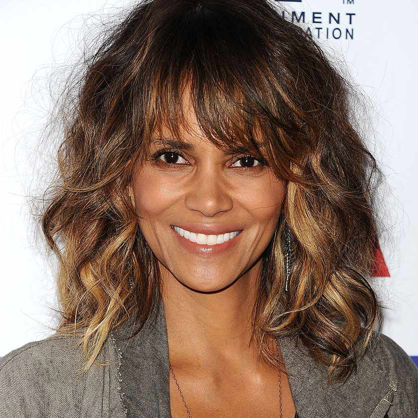 Halle Berry shag with bangs