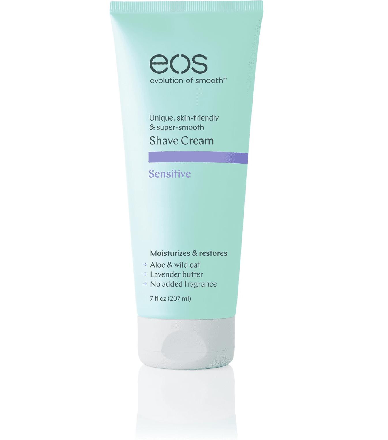 Evolution of Smooth sensitive shave cream