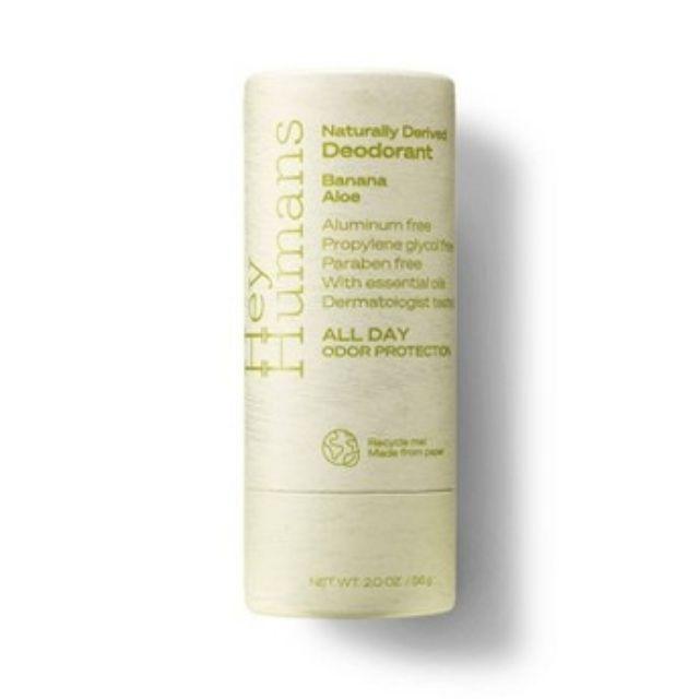 Hey Humans Natural Deodorant 99% Plastic-Free Packaging