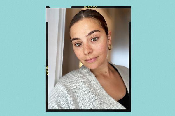 SkinCeuticals Hydrating B5 Gel Results on Emily Algar