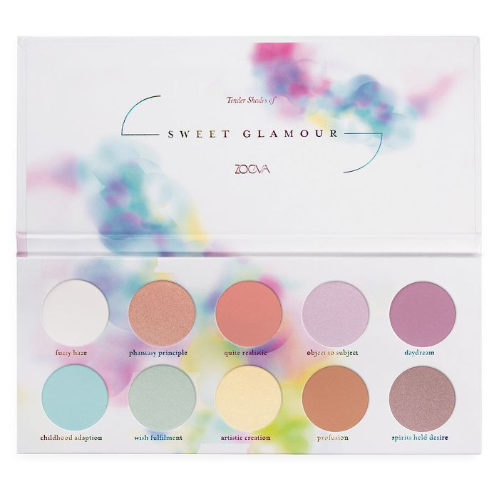 Zoeva Sweet Glamour Eye Shadow Palette