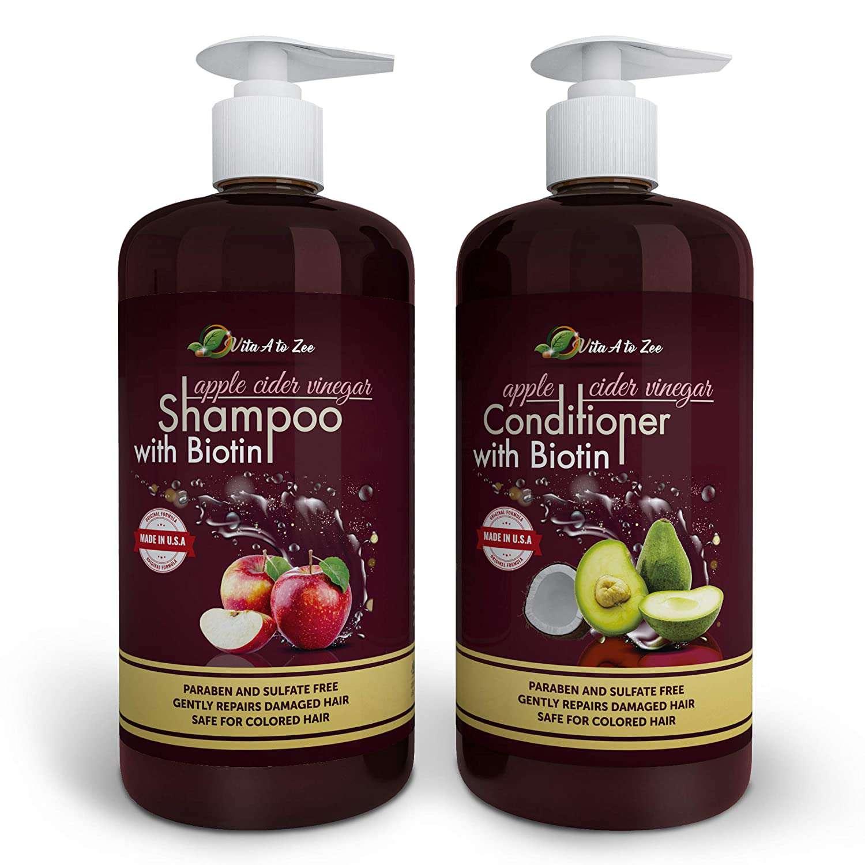 Apple Cider Vinegar & Biotin Shampoo & Conditioner
