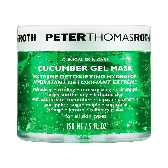 Cucumber Gel Mask Extreme Detoxifying Hydrator 5 oz