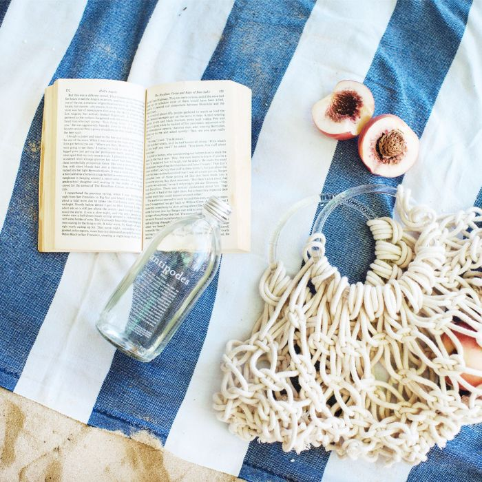 best mindfulness books: book on picnic blanket