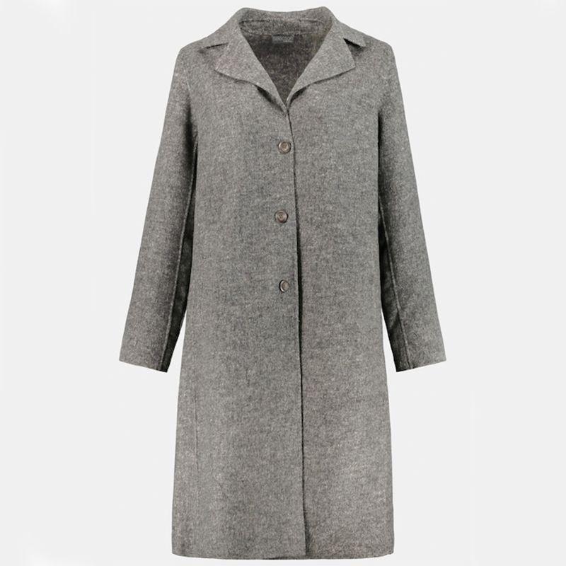 Lightweight Classic Wool Blend Coat