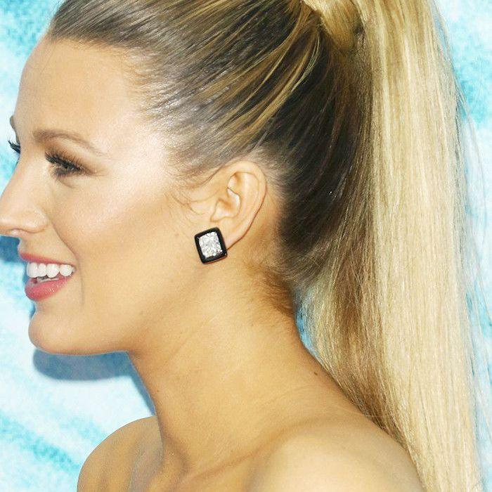 Blake Lively Hair: Barbarella ponytail