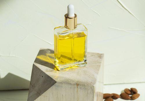 oil in bottle