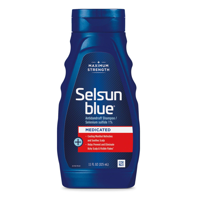 Selsun Blue Medicated Max Strength Dandruff Shampoo