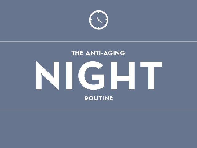 night routine graphic