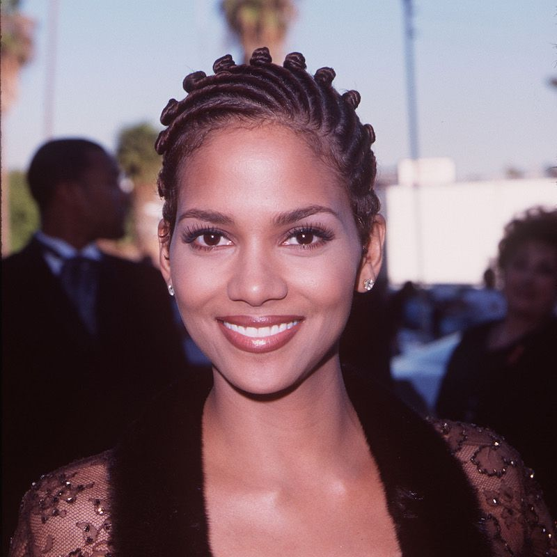 Protective Styles for Short Hair Halle Berry