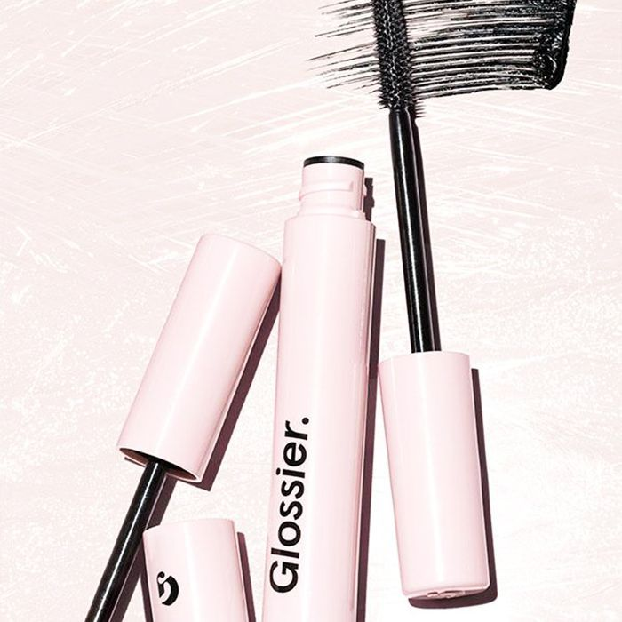 Glossier Lash Slick review: swiped mascaras on table