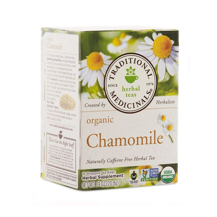 Traditional Medicinals Organic Chamomile Herbal Leaf Tea