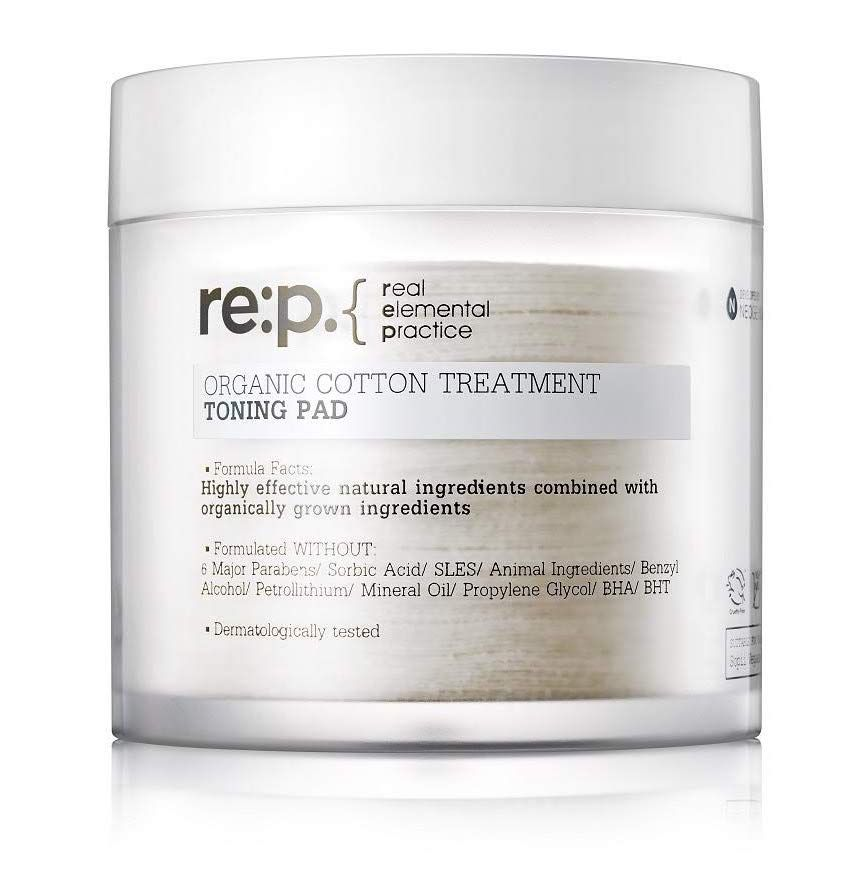 RE:P Organic Cotton Treatment Toning Pad