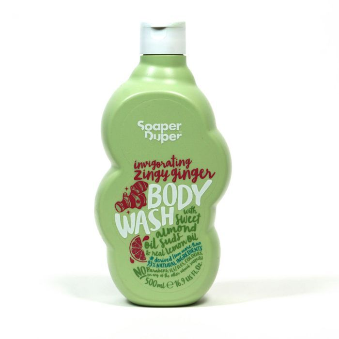 Soaper Duper Zingy Ginger Body Wash
