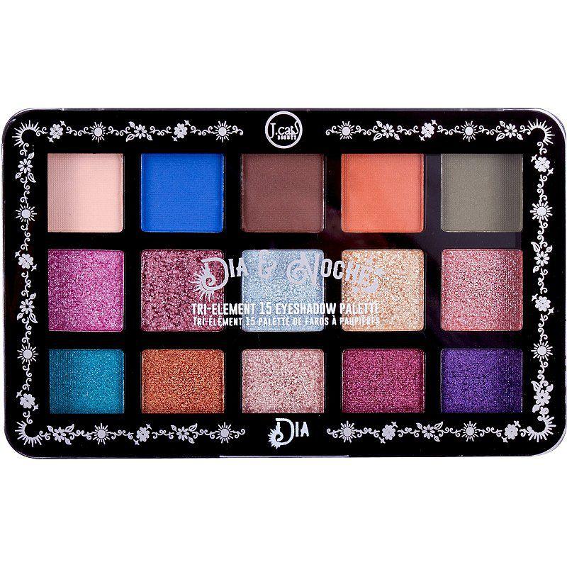J.Cat Beauty Dia & Noche Tri-Element 15 Eyeshadow Palette