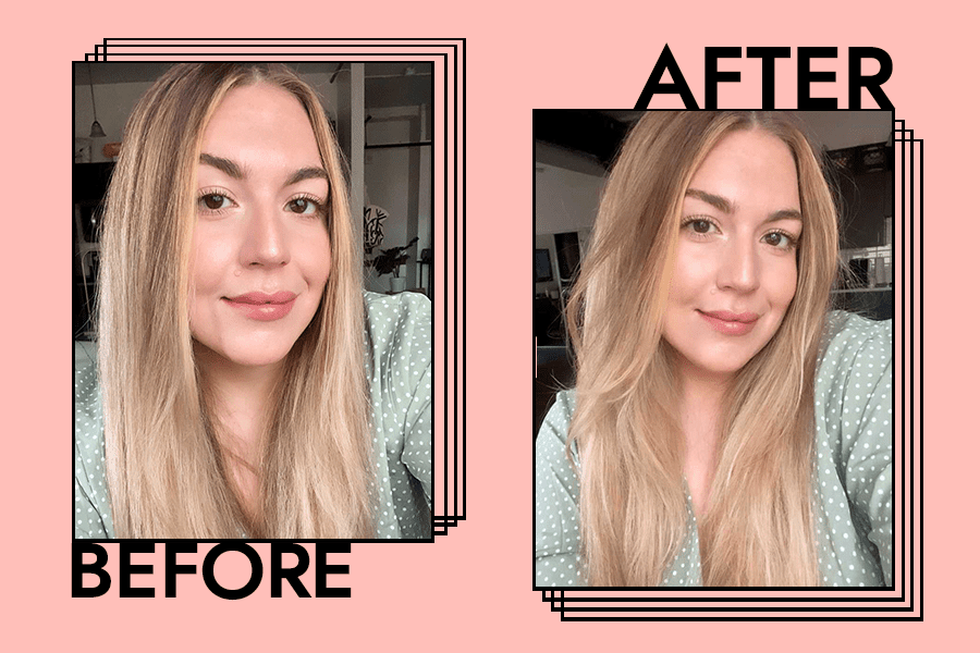 Before and after verb