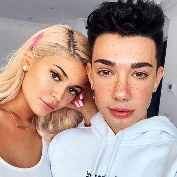 Kylie Jenner and James Charles Tutorial