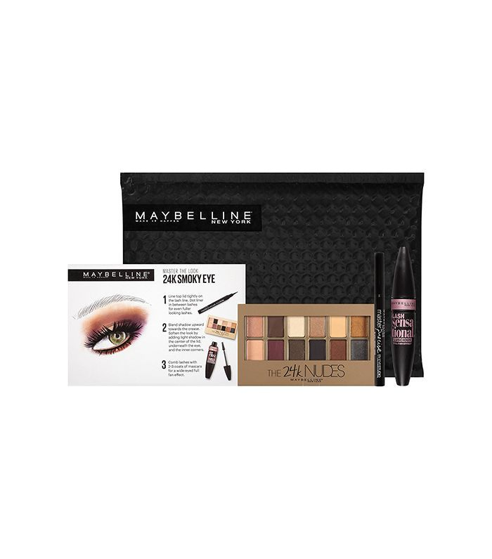Maybelline New York NY Minute Mascara Eye Makeup Gift Set, City Cat Eye - amazon beauty launches october