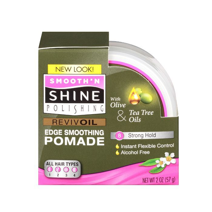 Smooth 'N Shine Polishing Olive & Tea Tree Oil Edge Smoothing Pomade