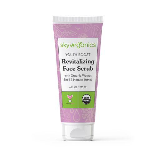Revitalizing Face Scrub ($13)