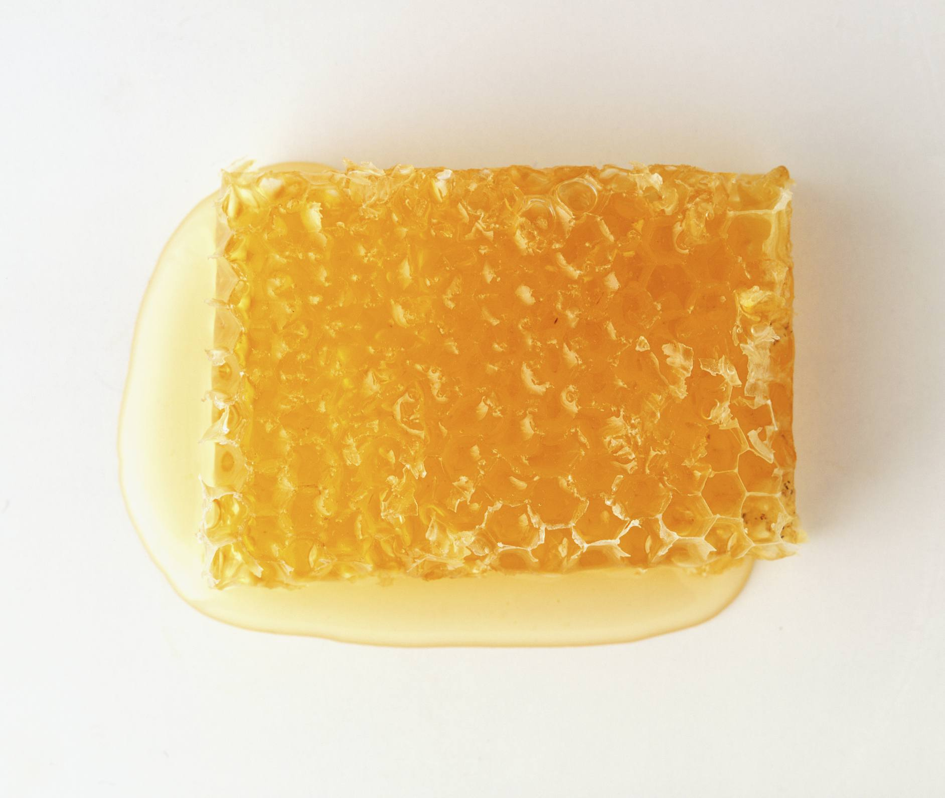 A chunk of beeswax
