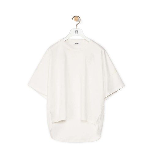 Short Oversize Anagram T-shirt in Cotton ($380)
