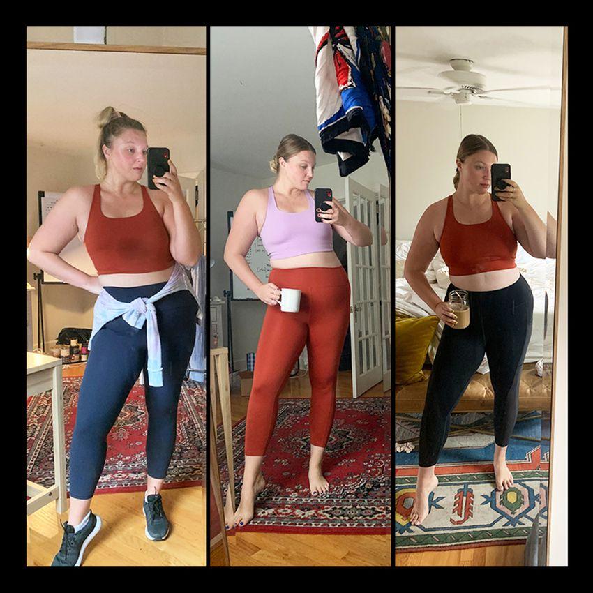 Olivia Meunter in Workout Leggins