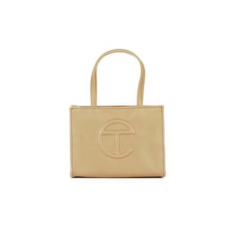 Small Cream Shopping Bag