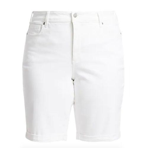 NYDJ Briella Roll Cuff Denim Bermuda Shorts