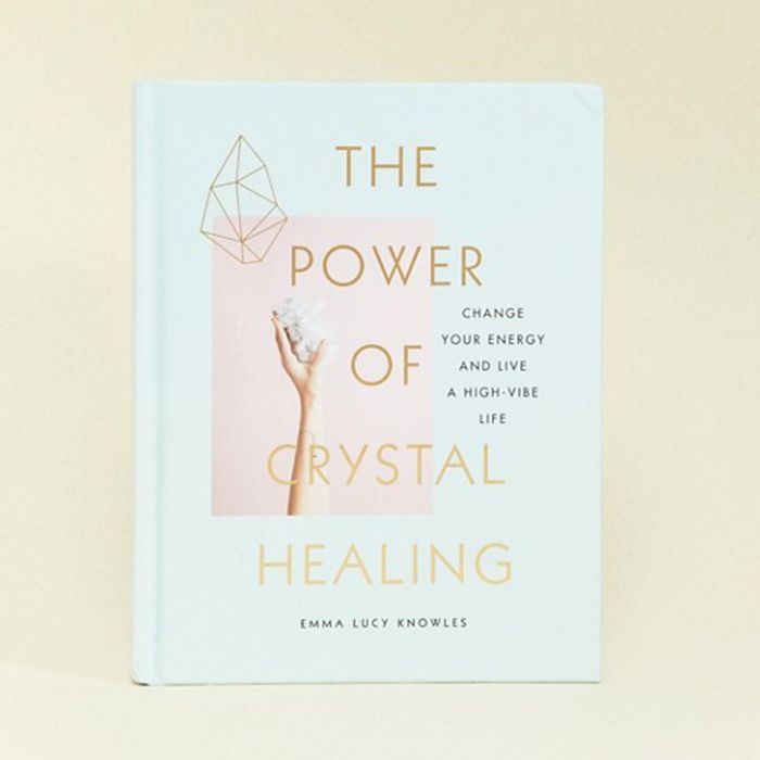 best mindfulness books: Emma Lucy Knowles The Power of Crystal Healing