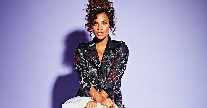 Rochelle Humes Shares Her Curly Hair Tips