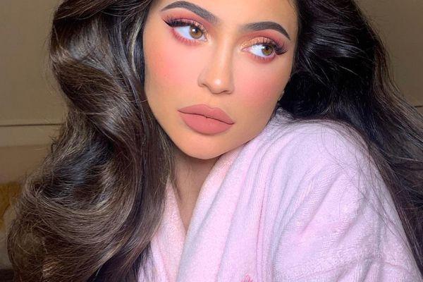 Kylie Jenner dark hair