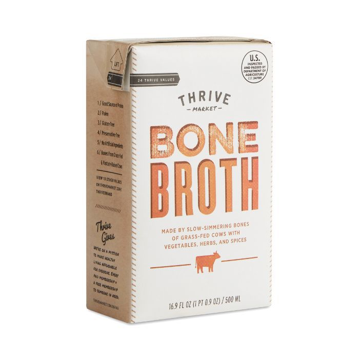 Thrive Market Grass-Fed Beef Bone Broth