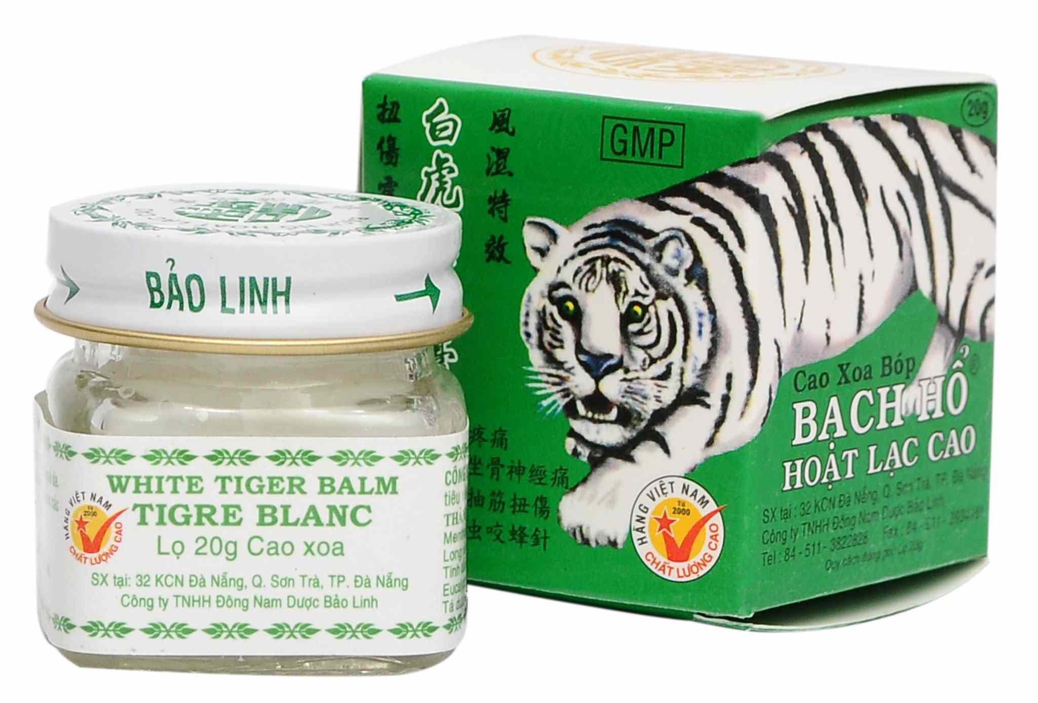 White Tiger Balm