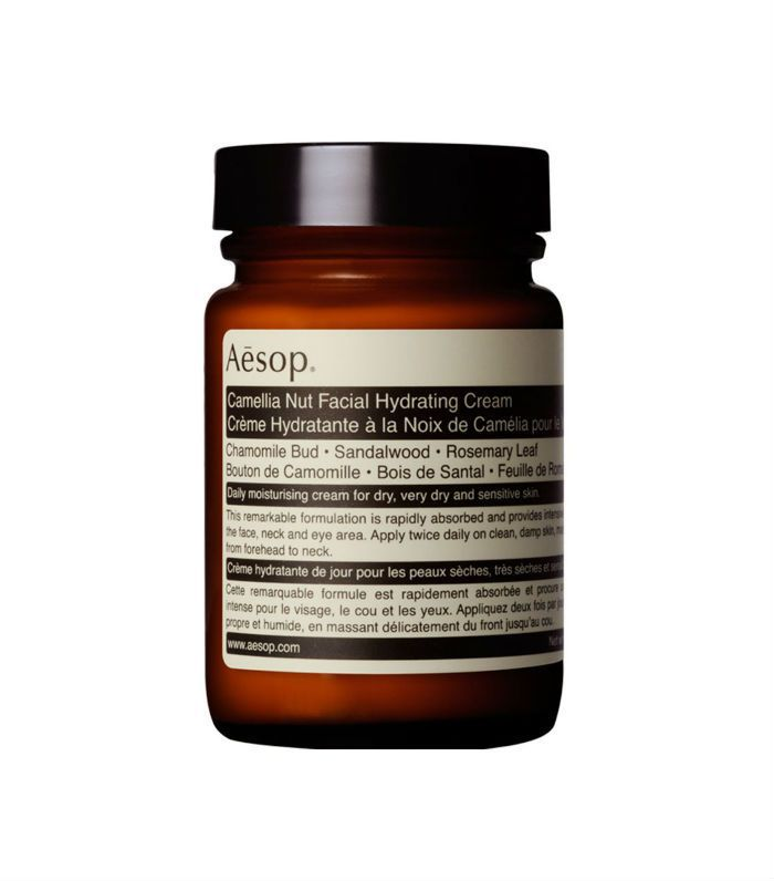How to look after oily skin in summer: Aesop Camellia Nut Facial Hydrating Cream