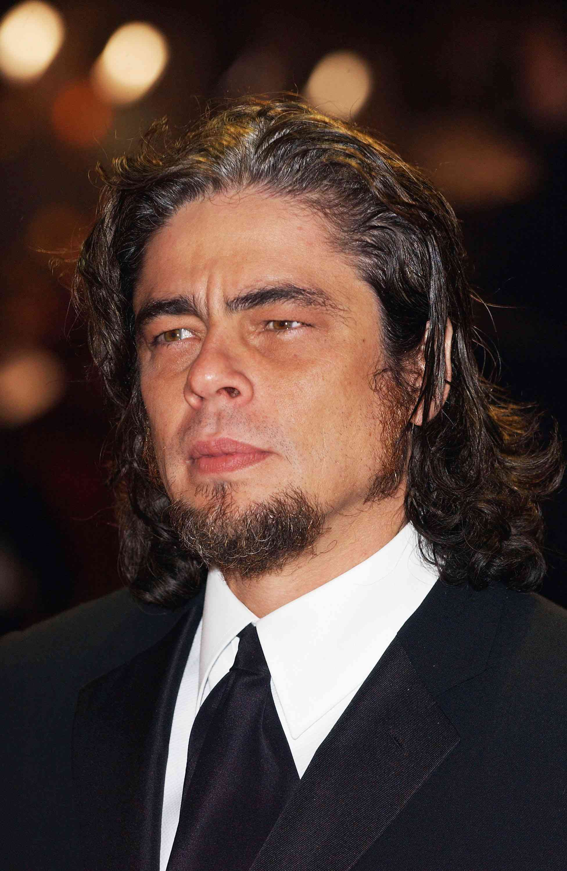Benicio Del Toro at The Orange British Academy Film Awards