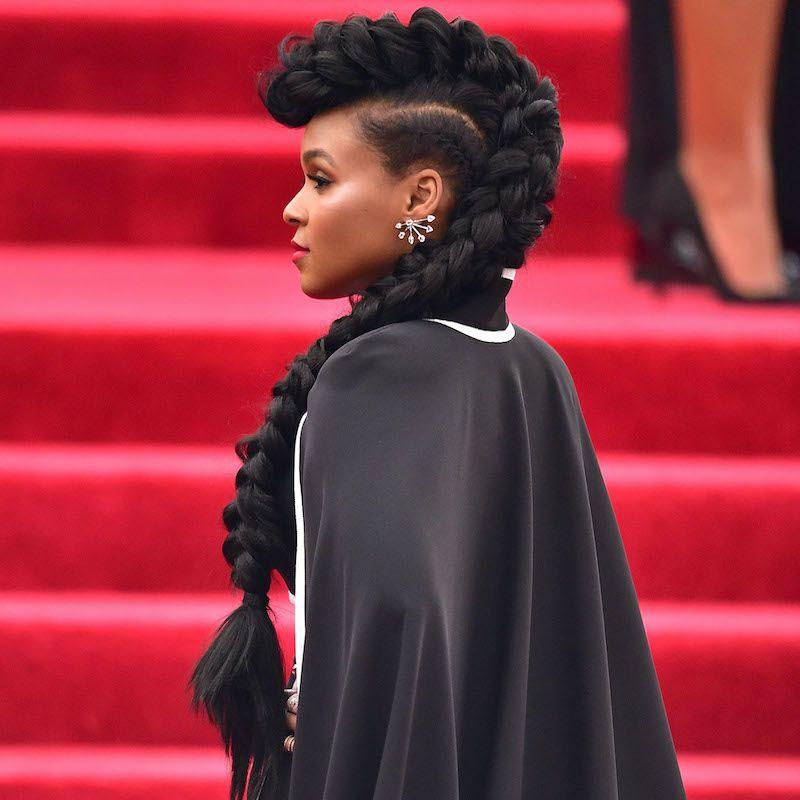 Cornrow Hairstyles Faux Hawk Janelle Monae