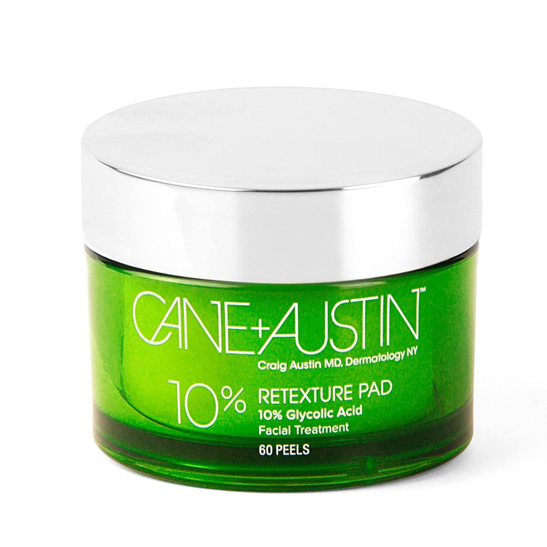 Cane + Austin Body Retexture Pads 10% Glycolic Acid Body Treatment