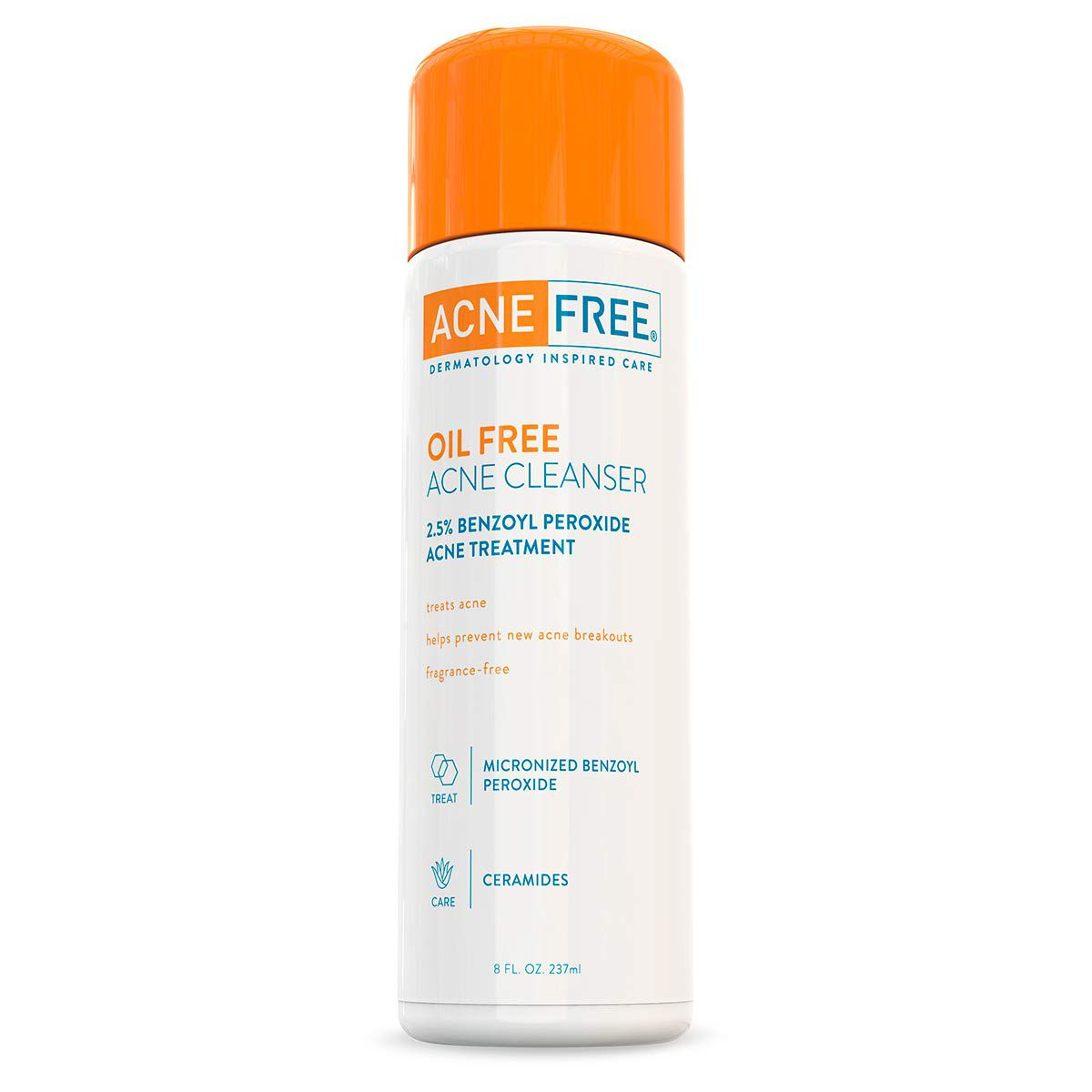 acnefree oil free acne cleanser