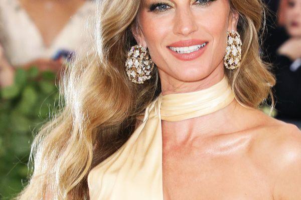 model Gisele Bundchen on the red carpet