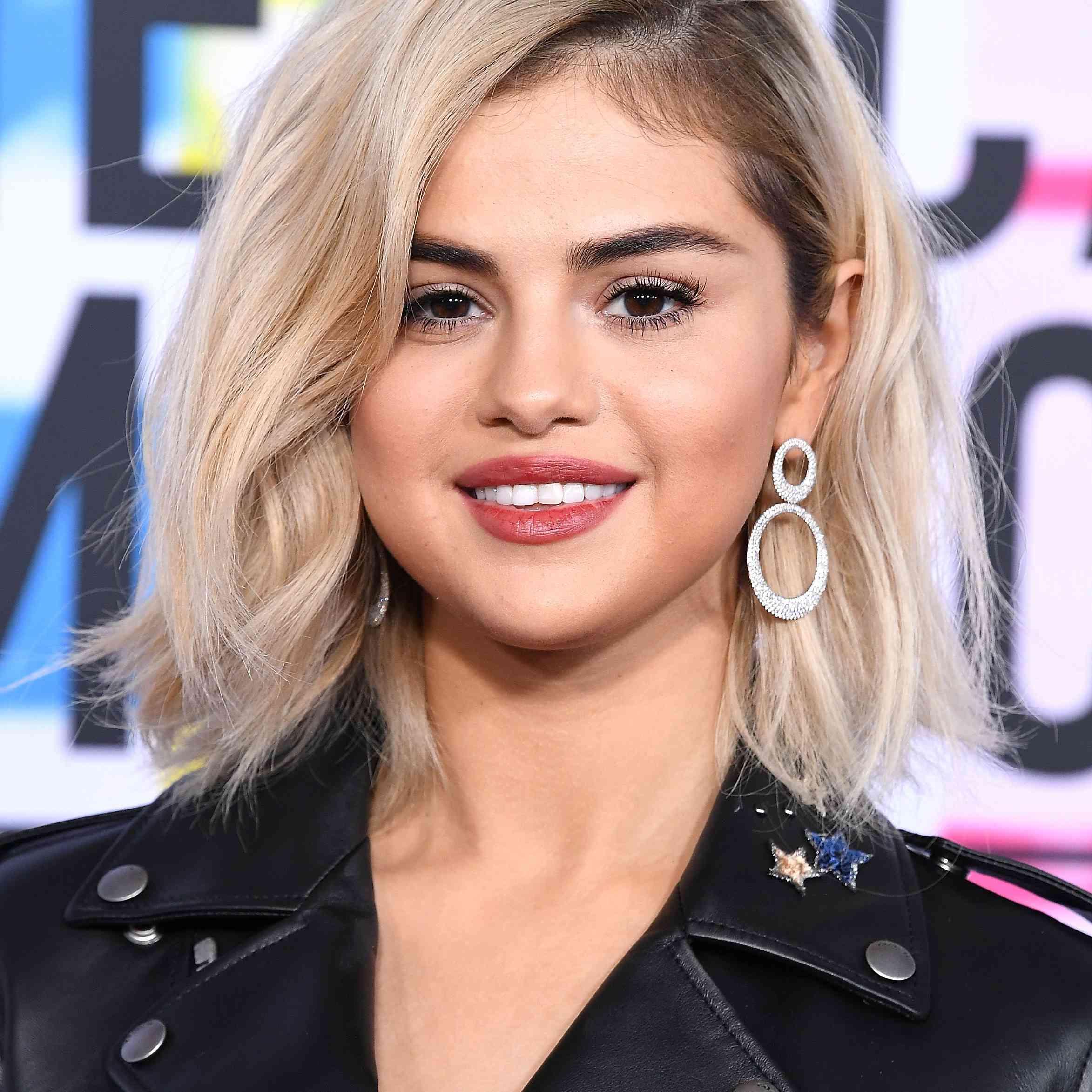 Selena Gomez Blonde Hair